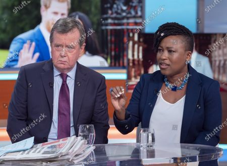 Editorial picture of 'Good Morning Britain' TV show, London, UK - 14 Jan 2020