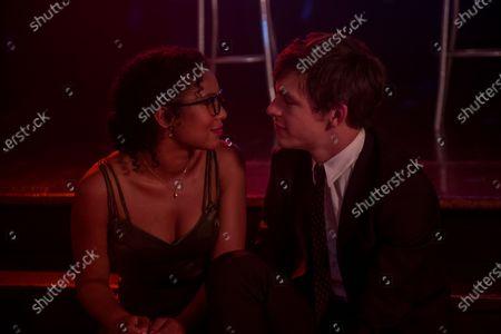Jaz Sinclair as Rosalind Walker and Ross Lynch as Harvey Kinkle