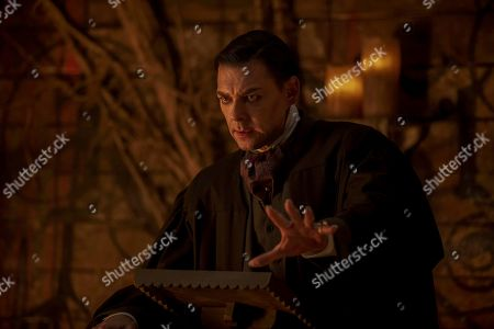 Richard Coyle as Father Faustus Blackwood