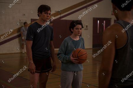 Ross Lynch as Harvey Kinkle and Lachlan Watson as Susie Putnam/Theo Putnam
