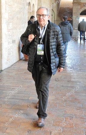 Former Italian Minister of Economy Pier Carlo Padoan
