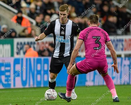 Editorial photo of Newcastle United v Rochdale, Emirates FA Cup Third Round Replay, Football, St. James' Park, Newcastle, UK - 14 Jan 2020