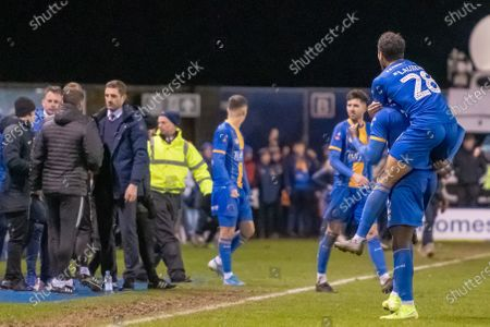 Editorial photo of Shrewsbury Town v Bristol City, Emirates FA Cup Third Round Replay, Football, Montgomery Waters Meadow, UK - 14 Jan 2020