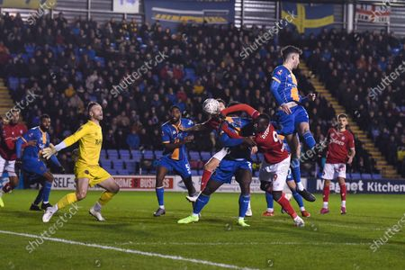 Editorial image of Shrewsbury Town v Bristol City, Emirates FA Cup Third Round Replay, Football, Montgomery Waters Meadow, UK - 14 Jan 2020