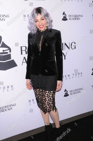 Editorial image of 62nd Annual Grammy Awards Nominees Celebration, Arrivals, New York, USA - 13 Jan 2020