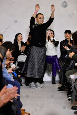 Miao Ran on the catwalk