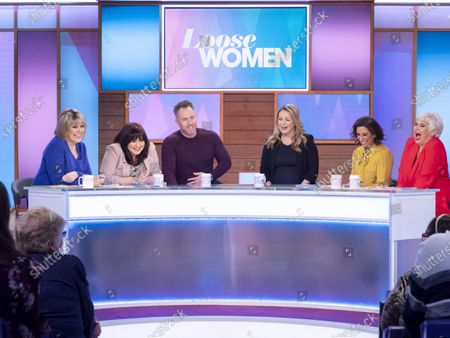 Editorial picture of 'Loose Women' TV show, London, UK - 14 Jan 2020