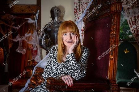 Stock Picture of Yvette Fielding - 'My Haven' the Living Room of her Haunted Cheshire Farmhouse