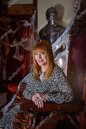 Editorial photo of Yvette Fielding photoshoot, Cheshire, UK - 10 Oct 2019