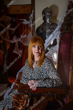 Stock Photo of Yvette Fielding - 'My Haven' the Living Room of her Haunted Cheshire Farmhouse