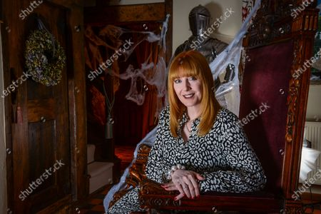 Yvette Fielding - 'My Haven' the Living Room of her Haunted Cheshire Farmhouse