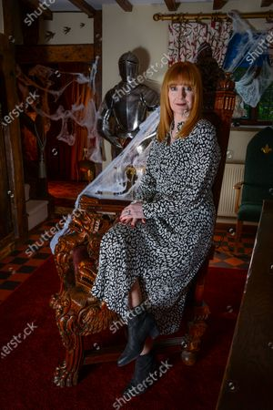 Editorial image of Yvette Fielding photoshoot, Cheshire, UK - 10 Oct 2019