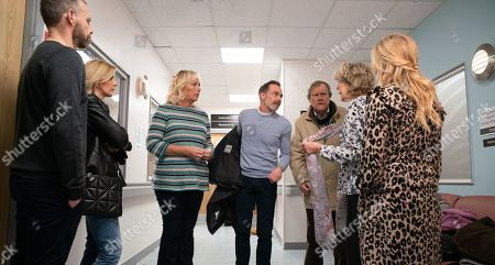 Coronation Street - Ep 9973 Monday 6th January 2020 - 2nd Ep Billy Mayhew, as played by Daniel Brocklebank, Eileen Grimshaw, as played by Sue Cleaver, Roy Cropper, as played by David Neilson, Audrey Roberts, as played by Sue Nicholls, Sarah Platt, as played by Tina O'Brien, and Gail Rodwell, as played by Helen Worth, visit Shona Platt, as played by Julia Goulding. The consultant removes Shona's breathing tube, will she defy the odds or is David Platt, as played by Jack P Shepherd, about the face the ultimate heartbreak?