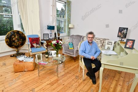 Stephen Poliakoff - 'My Haven' the Writing room of his West London Home