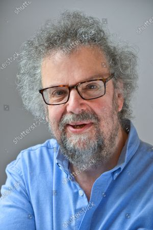 Stock Photo of Stephen Poliakoff - 'My Haven' the Writing room of his West London Home