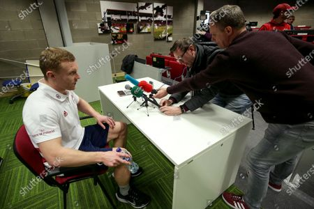 Editorial image of Munster Rugby Press Conference, UL, Limerick - 14 Jan 2020