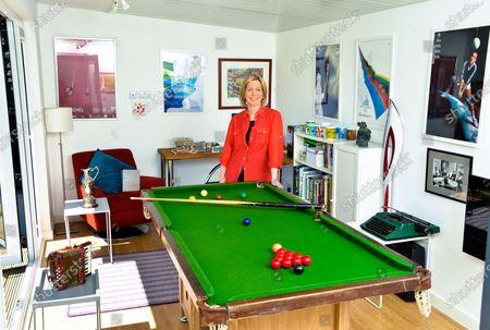 Hazel Irvine - 'My Haven' the Garden Office at her Scottish Home