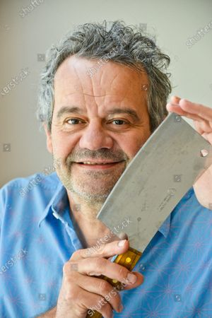 Stock Image of Mark Hix - 'My Haven' the Kitchen of his South East London Apartment