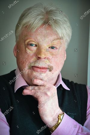 Editorial picture of Simon Weston photoshoot, Cardiff, Wales, UK - 03 May 2019
