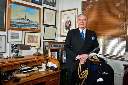 Admiral Alan West 'My Haven'- His 'Naval Cabin' office