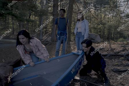 Tenea Intriago as Vera, Skylan Brooks as Timothy, Elsie Fisher as Joy Wilkes and Abby Corrigan as Chance