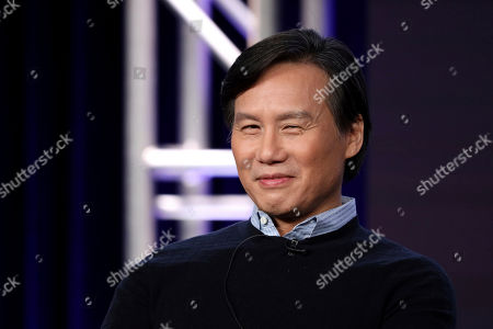 """BD Wong appears at the """"Akwafina is Nora from Queens"""" panel during the Comedy Central TCA 2020 Winter Press Tour at the Langham Huntington, in Pasadena, Calif"""