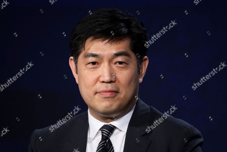 COO and Co-Head of Television, Amazon Studios Albert Cheng speaks at the Executive Session during the Amazon TCA 2020 Winter Press Tour at the Langham Huntington, in Pasadena, Calif