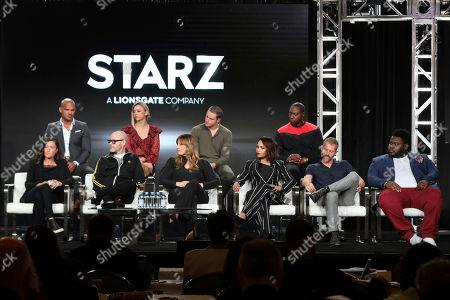 Editorial image of 2020 Winter TCA - Viacom/Amazon/Starz, Pasadena, USA - 14 Jan 2020