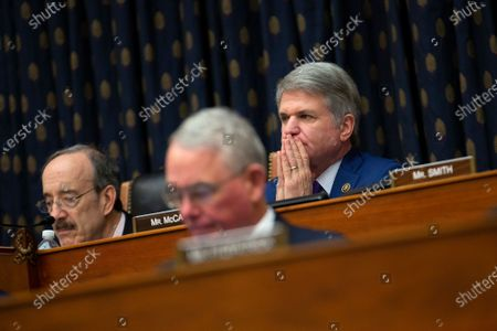 United States Representative Michael McCaul (Republican of Texas) listens as Richard Haass Ph.D., President of the Council on Foreign Relations, Avril Haines, Former Deputy National Security Advisor and Former Deputy Director of the Central Intelligence Agency, and Stephen J. Hadley, Former National Security Advisor, testify before the US House Committee on Foreign Relations at the United States Capitol in Washington DC, following a US, drone strike that killed Iranian military leader Qasem Soleimani. United States Secretary of State Mike Pompeo, who was supposed to be the key witness appearing before the committee, declined to testify due to travel.