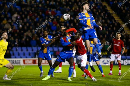 Editorial picture of Shrewsbury Town v Bristol City FA CUP, UK - 14 Jan 2020