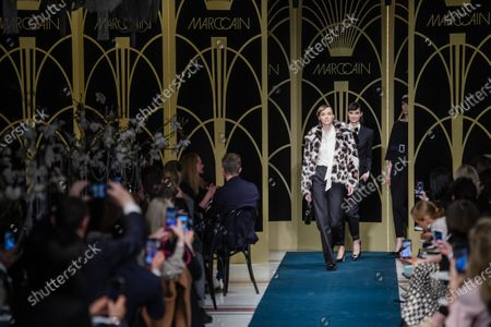Editorial picture of Marc Cain - Runway - Berlin Fashion Week FW 2020, Germany - 14 Jan 2020
