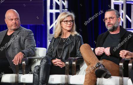 Michael Chiklis, Michelle MacLaren, and David Graziano