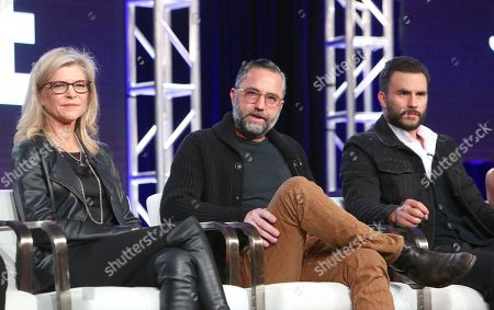 Michelle MacLaren, David Graziano and Juan Pablo Raba