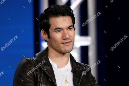 "Joseph Altuzarra speaks at the ""Making the Cut"" panel during the Amazon TCA 2020 Winter Press Tour at the Langham Huntington, in Pasadena, Calif"