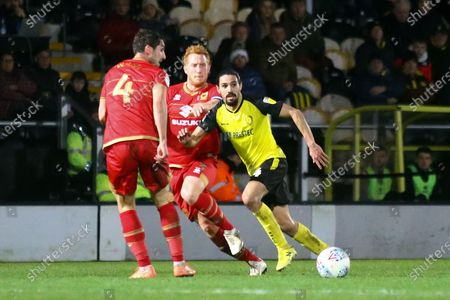 Editorial picture of Burton Albion v Milton Keynes Dons, The FA Cup - 14 Jan 2020