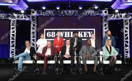 Stock Picture of Cristina Rodio, Beth Riesgraf, Lamont Thompson, Nicholas Coombe, Derek Theler. Front Row: Roberto Benabib, Michael Lehmann, Sam Keeley, Jeremy Tardy and Gage Golightly