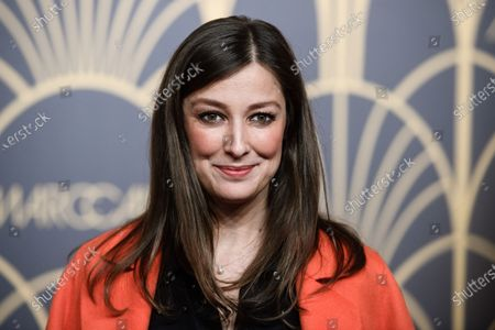 German-Romanian actress Alexandra Maria Lara poses on the red carpet prior the Marc Cain fashion show during the Berlin Fashion Week, in Berlin, Germany, 14 January 2020. The Berlin Fashion Week presents creations of the Fall/Winter 2020 collections and runs from 13 to 17 January.