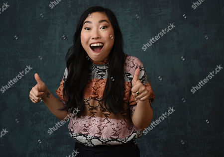 "Awkwafina, born Awkwafina, the creator/writer/star/executive producer of the Comedy Central series "" Awkwafina is Nora from Queens,"" poses for a portrait during the 2020 Winter Television Critics Association Press Tour, in Pasadena, Calif"