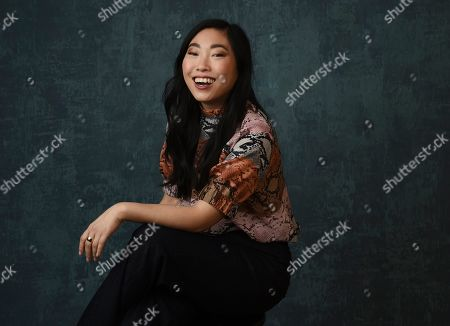 "Awkwafina, Awkwafina. Awkwafina, born Awkwafina, star of the Comedy Central series "" Awkwafina is Nora from Queens,"" poses for a portrait during the 2020 Winter Television Critics Association Press Tour, in Pasadena, Calif"