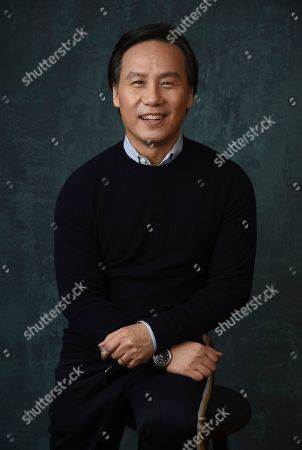 """BD Wong, a cast member in the Comedy Central series """" Awkwafina is Nora from Queens,"""" poses for a portrait during the 2020 Winter Television Critics Association Press Tour, in Pasadena, Calif"""