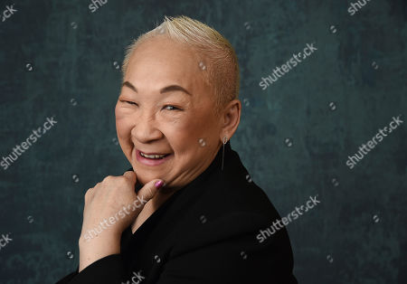 "Stock Image of Lori Tan Chinn, a cast member in the Comedy Central series "" Awkwafina is Nora from Queens,"" poses for a portrait during the 2020 Winter Television Critics Association Press Tour, in Pasadena, Calif"