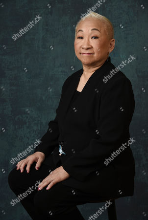 "Lori Tan Chinn, a cast member in the Comedy Central series "" Awkwafina is Nora from Queens,"" poses for a portrait during the 2020 Winter Television Critics Association Press Tour, in Pasadena, Calif"