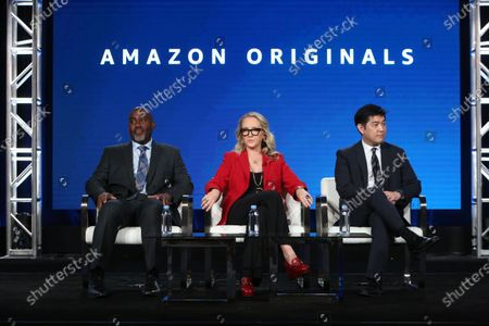 Editorial picture of Executive Session, Amazon TCA Winter Press Tour, Panels, Los Angeles, USA - 14 Jan 2020