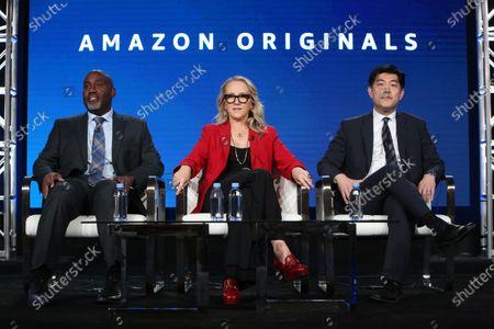Vernon Sanders, Jennifer Salke and Albert Cheng