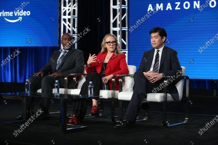 Editorial photo of Executive Session, Amazon TCA Winter Press Tour, Panels, Los Angeles, USA - 14 Jan 2020