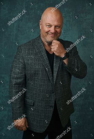 """Stock Image of Michael Chiklis, the star and executive producer of the Paramount Network series """"Coyote,"""" poses for a portrait during the 2020 Winter Television Critics Association Press Tour, in Pasadena, Calif"""