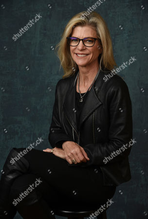 """Stock Photo of Michelle MacLaren, executive producer/director of the Paramount Network series """"Coyote,"""" poses for a portrait during the 2020 Winter Television Critics Association Press Tour, in Pasadena, Calif"""