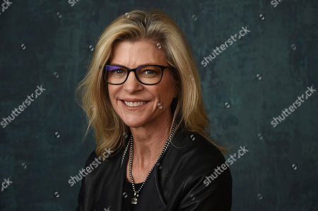 """Michelle MacLaren, executive producer/director of the Paramount Network series """"Coyote,"""" poses for a portrait during the 2020 Winter Television Critics Association Press Tour, in Pasadena, Calif"""