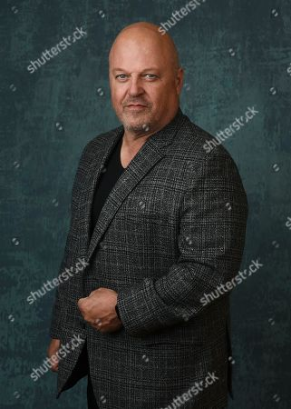 """Stock Picture of Michael Chiklis, the star and executive producer of the Paramount Network series """"Coyote,"""" poses for a portrait during the 2020 Winter Television Critics Association Press Tour, in Pasadena, Calif"""