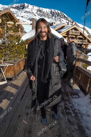 Bob Sinclar attending the first day of the 23rd L'Alpe D'Huez International Comedy Film Festival